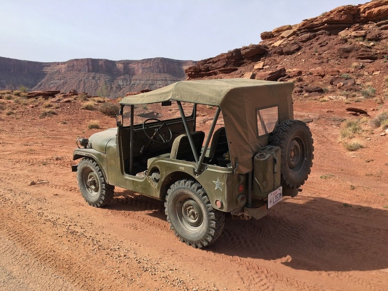 low miles and original paint 1953 Willys M38A1 Military
