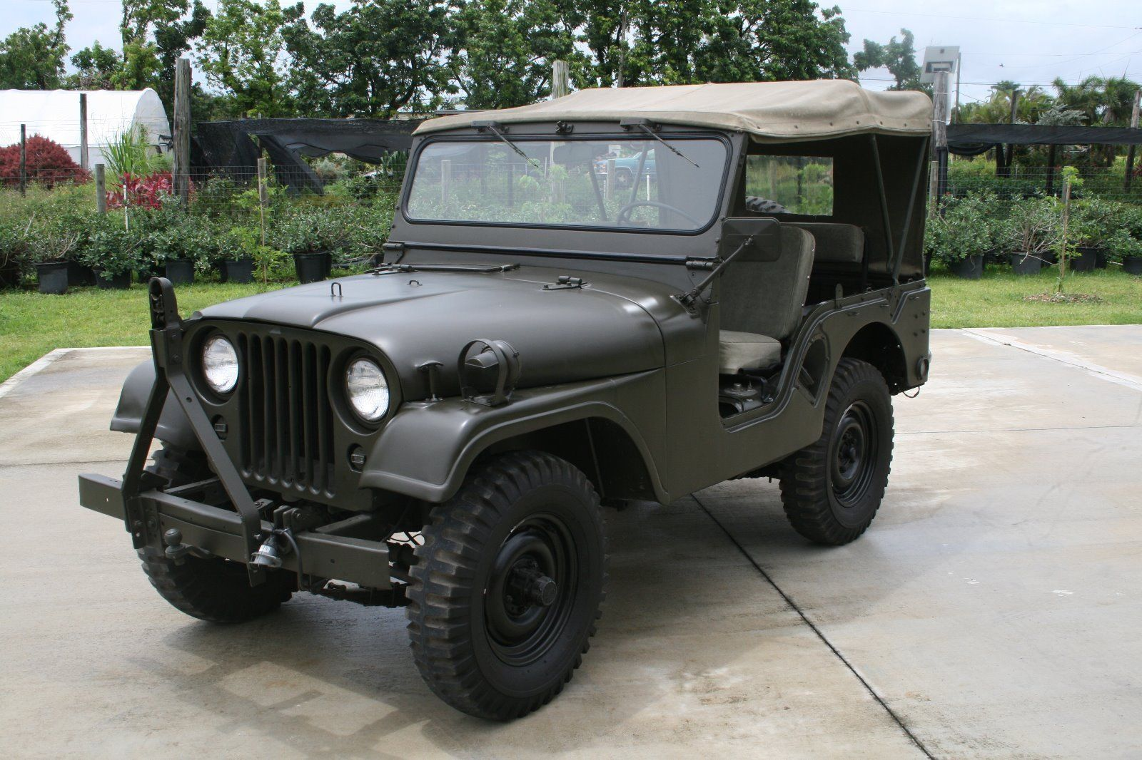 movie car 1953 Willys Jeep M38A1 military for sale