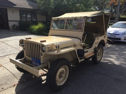 older restoration 1943 Ford FORD GPW JEEP military for sale