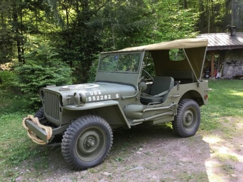 rebuilt 1944 Ford GPW military jeep willys for sale
