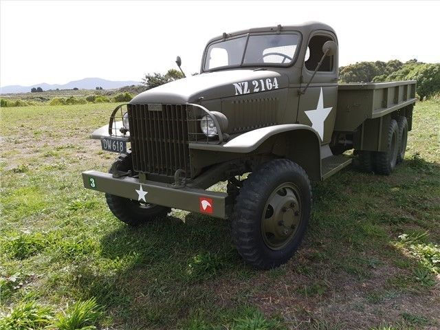 restored 1942 CCKW 6 x 4 GMC Truck military for sale