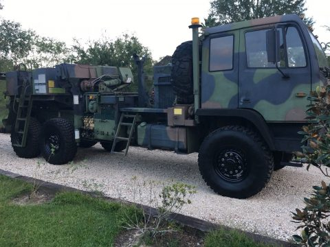 serviced wrecker 1993 Stewart & Stevenson LMTV military for sale