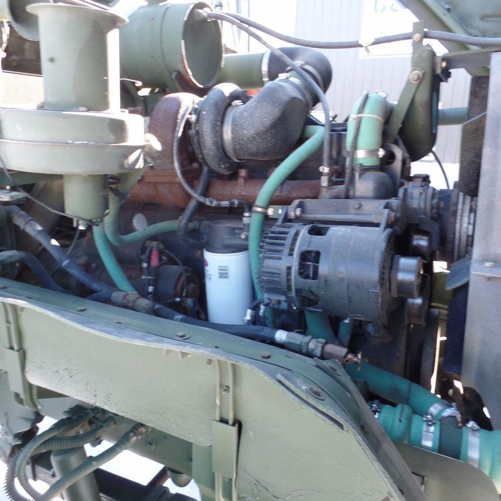 very clean 1990 BMY M928a2 Cargo Truck Military