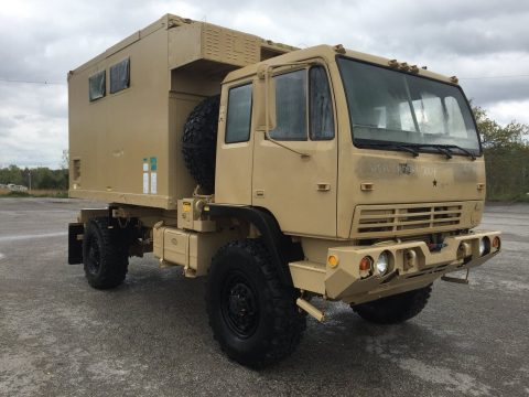 very low miles 1998 Stewart & Stevenson M1079 LMTV Van Body Truck military for sale