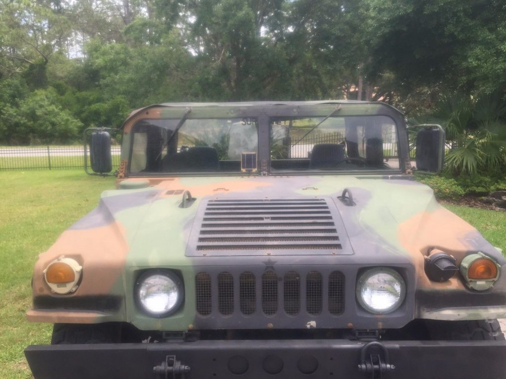 very nice 1992 AM General humvee military