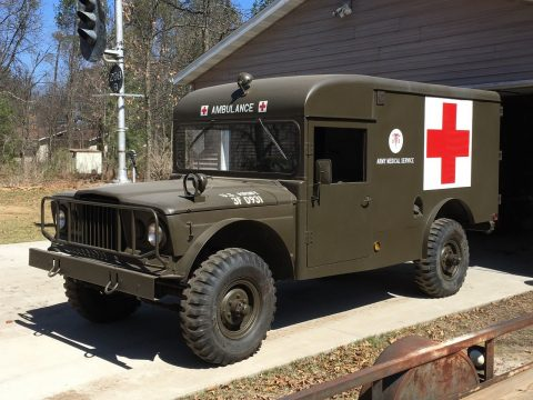Engine professionally rebuilt 1967 Kaiser Jeep M 725 Ambulance military for sale