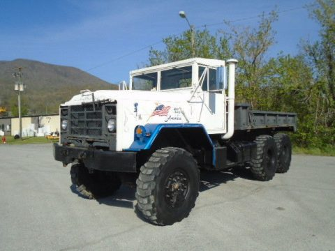 low miles 1986 BMY 5 TON 6X6 Cargo TRUCK military for sale