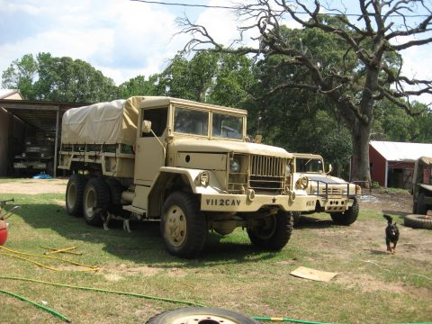 movie car 1967 Studebaker/Reo M 35 21/2 ton military for sale