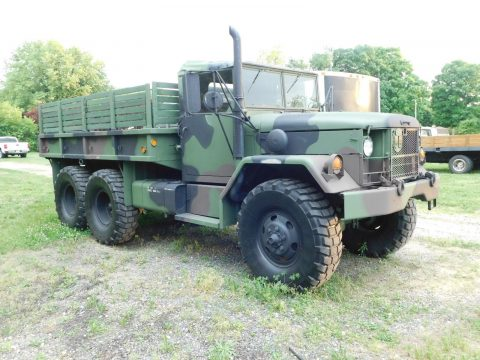 Recent Repaint 1971 AM General M35a2 Deuce and a half Military Truck for sale