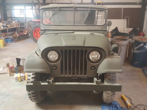 rust free garaged 1957 Willy's M38a1 Military Jeep for sale