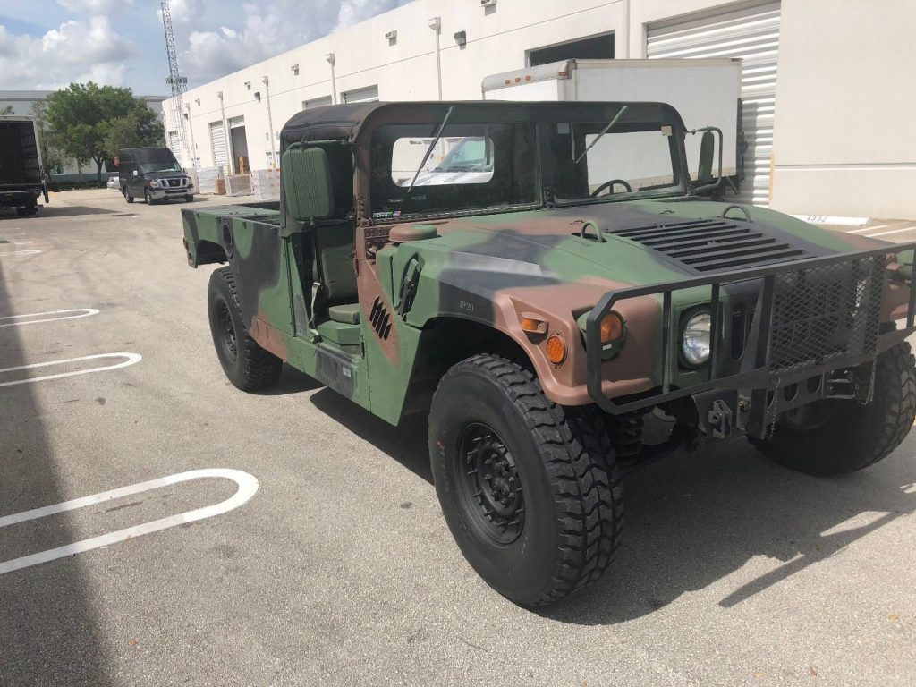 Upgraded 1986 AM General Humvee M998 Pickup military