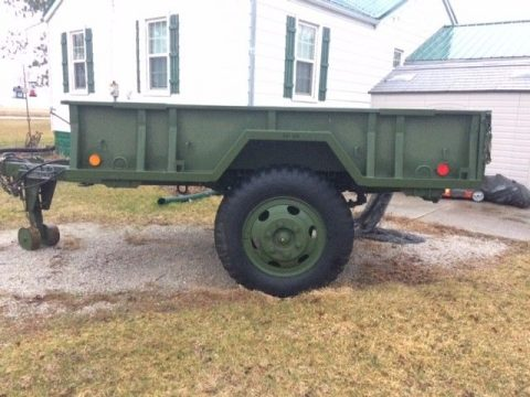 very good conditon 1968 M105 Military Cargo Trailer for sale