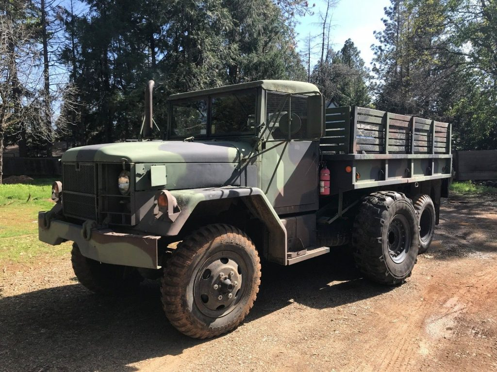 Vietnam era 1967 Kaiser Jeep M35a2 Deuce and a Half military for sale