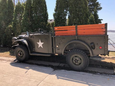 all original 1953 Dodge M37 Power Wagon Military for sale
