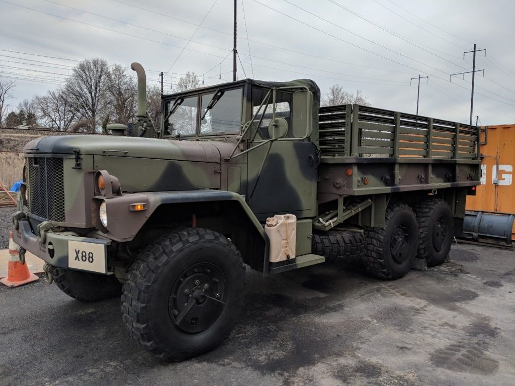 clean 1993 AM General M35a3 Duece and 1/2
