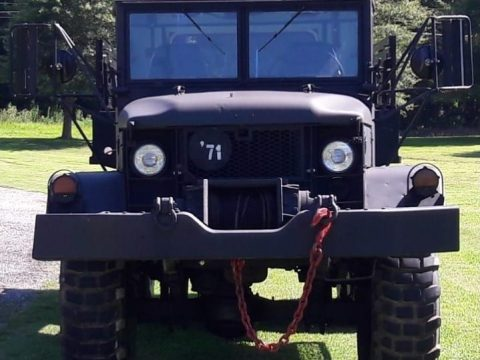 Custom 4door 1971 AM General M35a2 6×6 military for sale