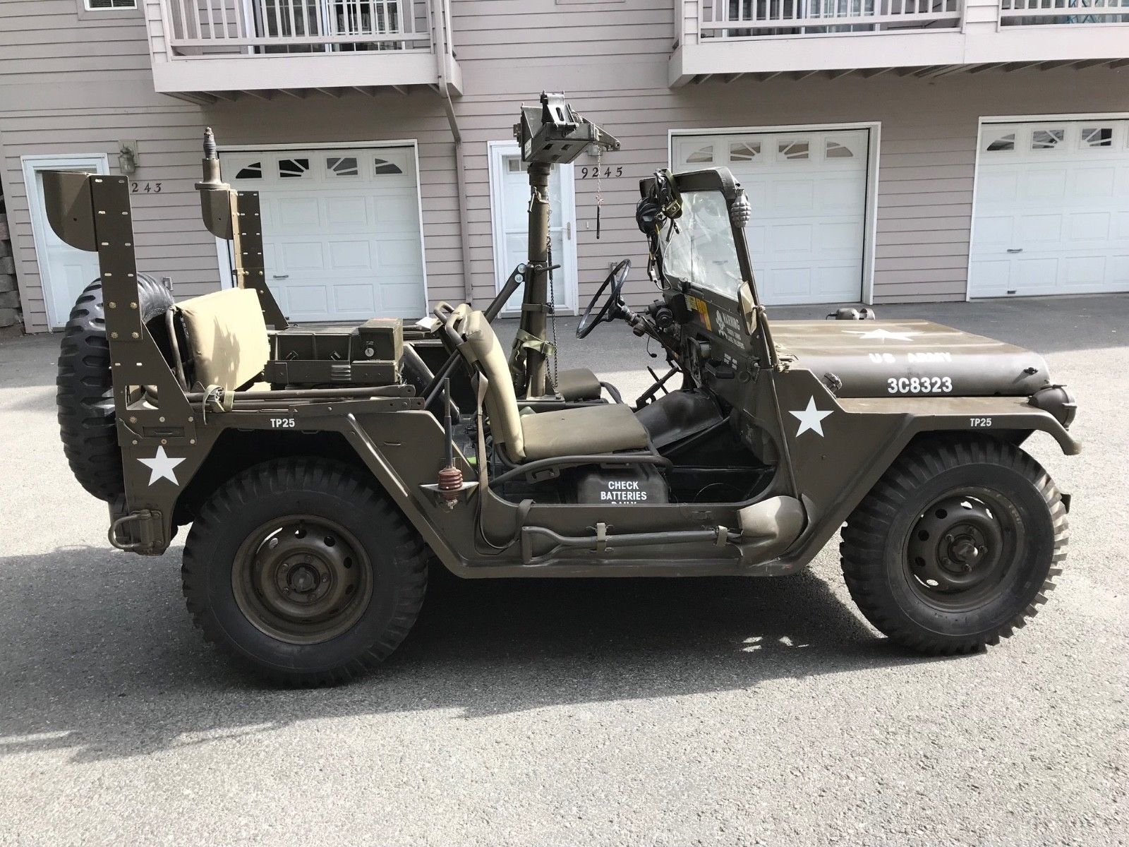 good ole machinery 1969 AM General Jeep Military