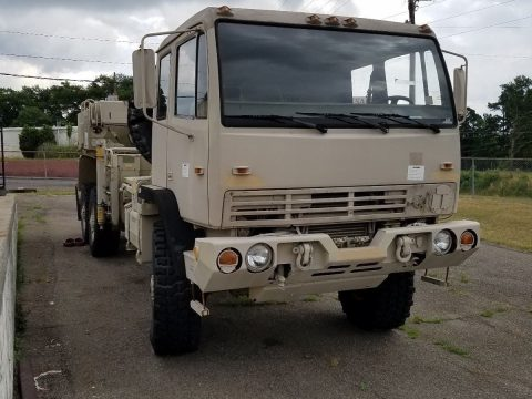 low miles 1995 Stewart AND Stevenson LMTV M1089 6X6 Wrecker military for sale