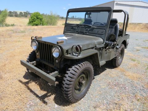 newer engine 1952 Willys M38 Military JEEP for sale