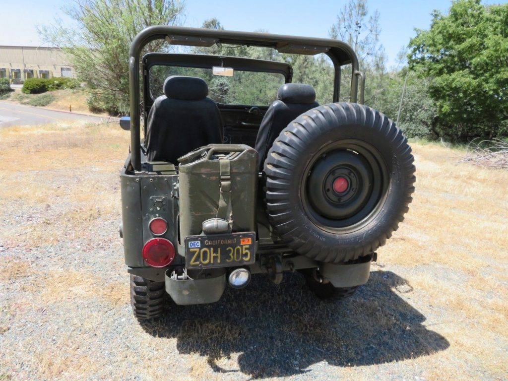 Newer Engine 1952 Willys M38 Military Jeep For Sale 1947 Wiring