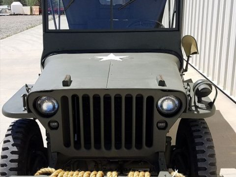 restored 1943 Willys jeep gpw military for sale
