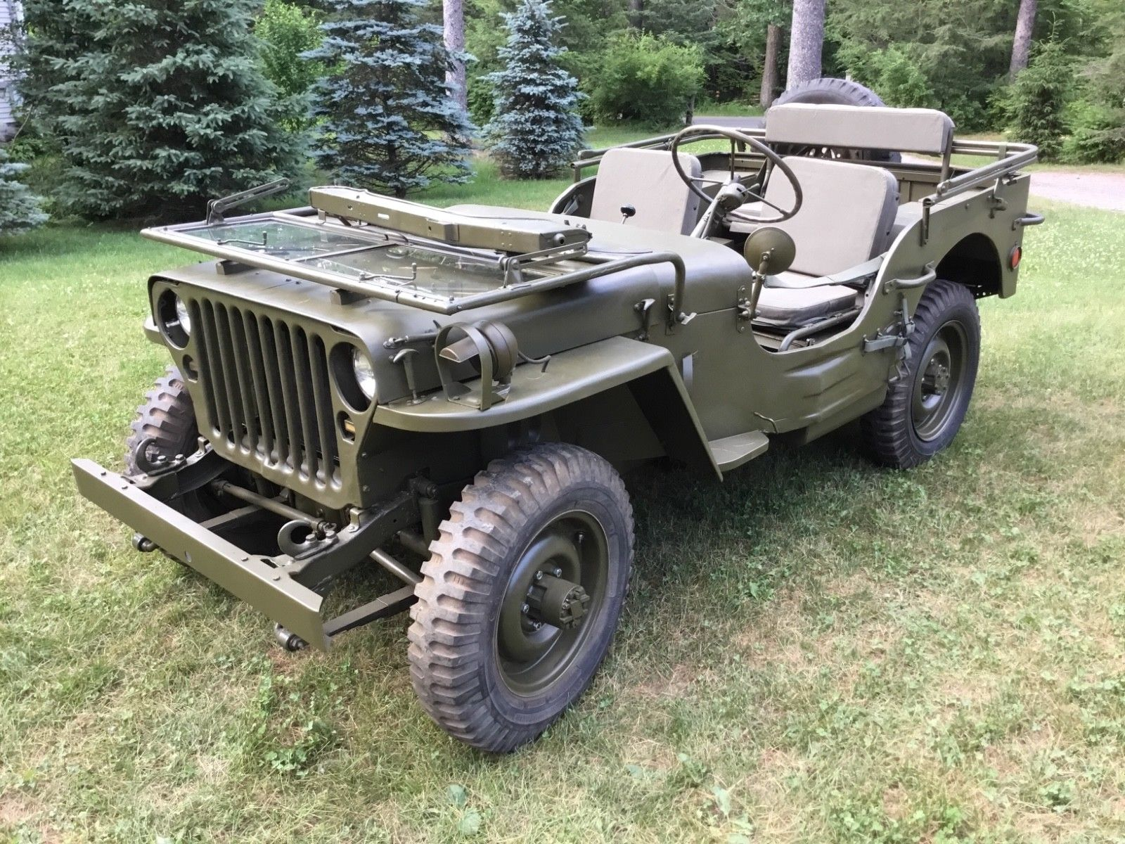 rust free 1942 Willys MB Military jeep WWII GPW for sale