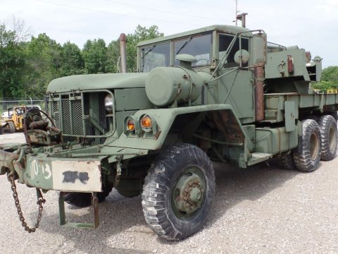 solid 1971 BMY M816 Wrecker Winch 5 ton military for sale