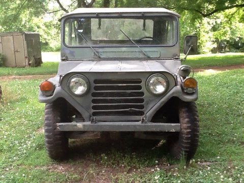 some issues 1971 M151a2 Mutt Jeep military for sale