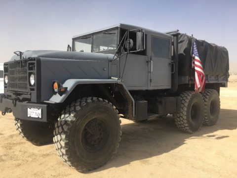 custom 1991 BMY M923a2 6X6 Military Truck for sale