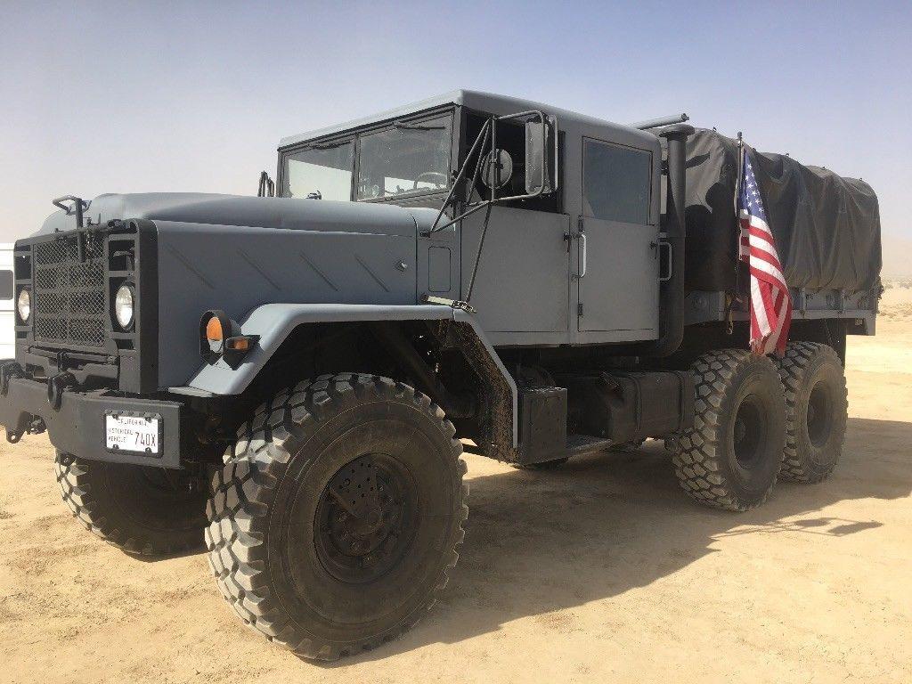 custom 1991 BMY M923a2 6X6 Military Truck for sale