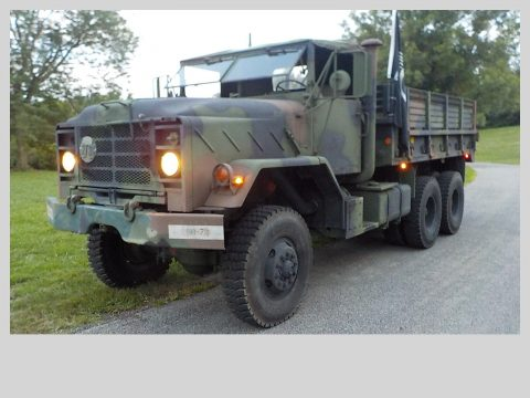 everything works 1985 AM General Deuce and a Half M923 Military Cargo Truck for sale