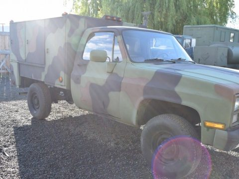 generator equipped 1986 Chevrolet M1031 CUCV Shop Maintenance Truck for sale