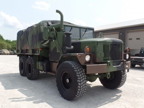 lots of extras 1996 AM General M35a3 Military Cargo Truck for sale