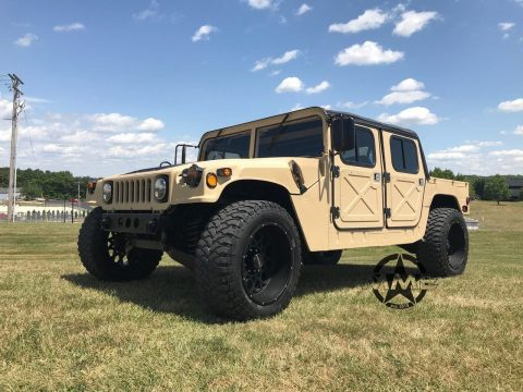 low miles 1989 AM General Humvee M1026 M1123 m923 m35 M1078 Military for sale