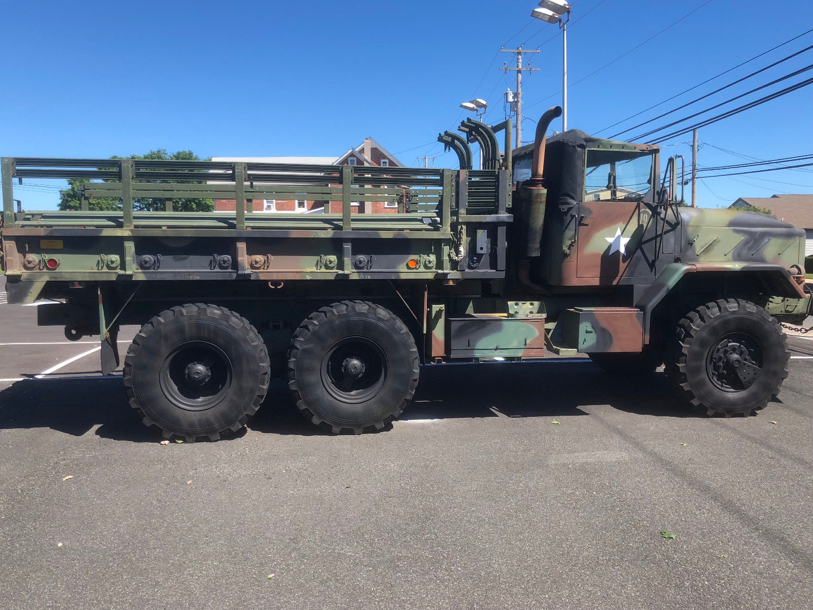 low miles 1991 BMY M925 A2 5 ton Military Truck Troop carier for sale