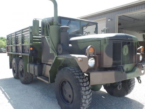 low miles 1996 BMY M35a3 Military Cargo Truck for sale