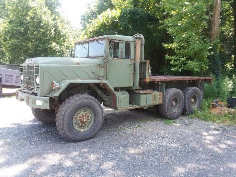 needs basic service 1984 AM General 6×6 Military truck for sale