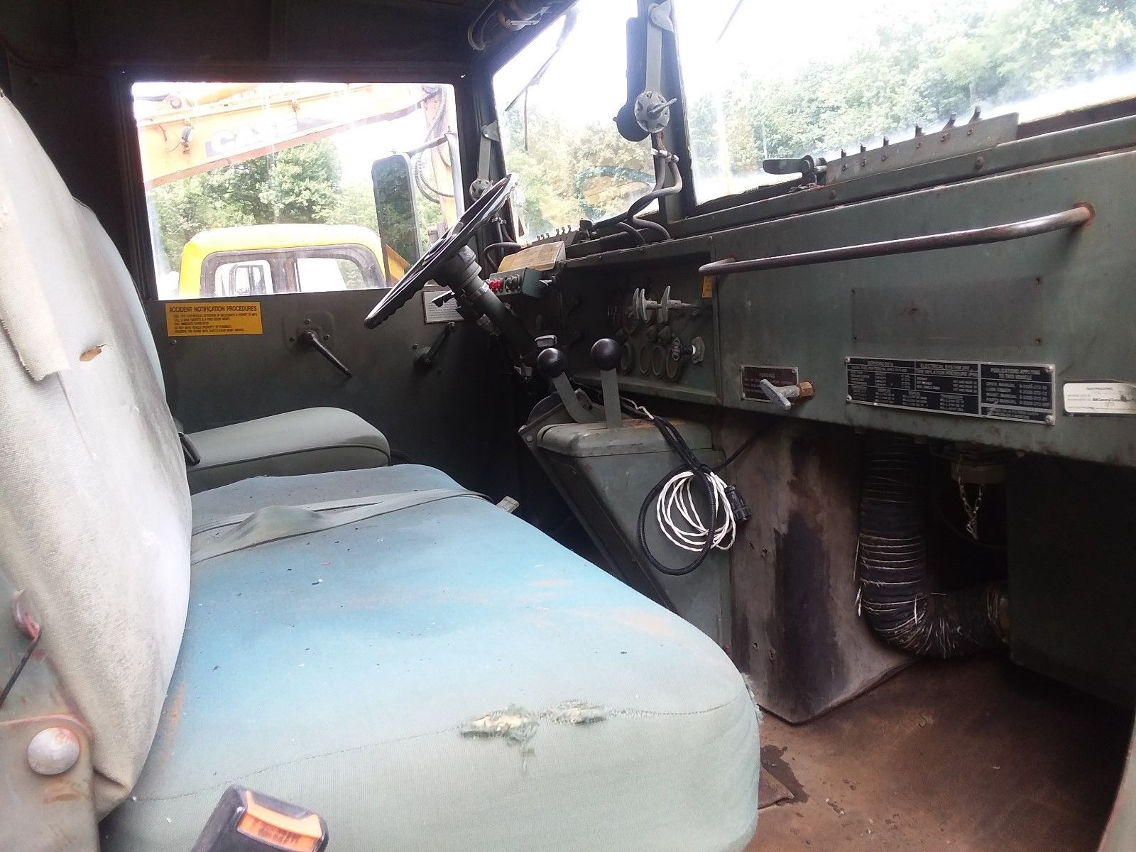 needs basic service 1984 AM General 6×6 Military truck