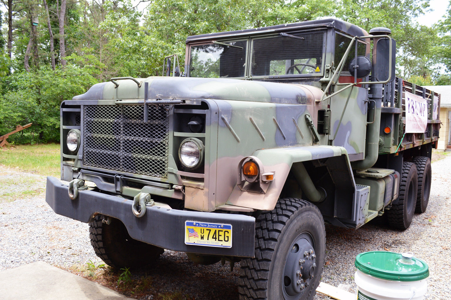 new parts 1984 AM General M923 5 Ton Military Truck for sale