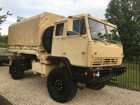 rare 1997 Stewart & Stevenson LMTV M1081 4X4 Military Cargo truck for sale