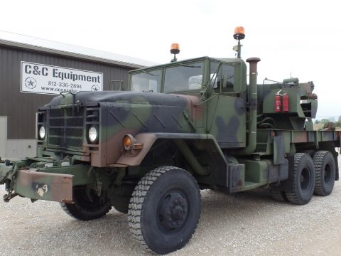 rebuilt 1985 AM General M936a1 Military Wrecker Truck for sale