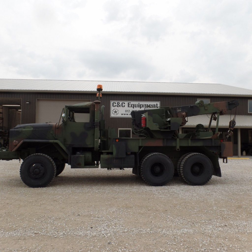 rebuilt 1985 AM General M936a1 Military Wrecker Truck