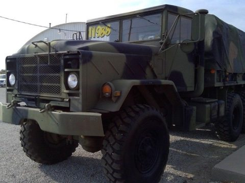 strong 1986 AM General M923 Cummins NHC 250 6 Cylinder military truck for sale