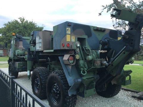 very nice 1993 Stewart & Stevenson LMTV M1089 6X6 Wrecker military truck for sale