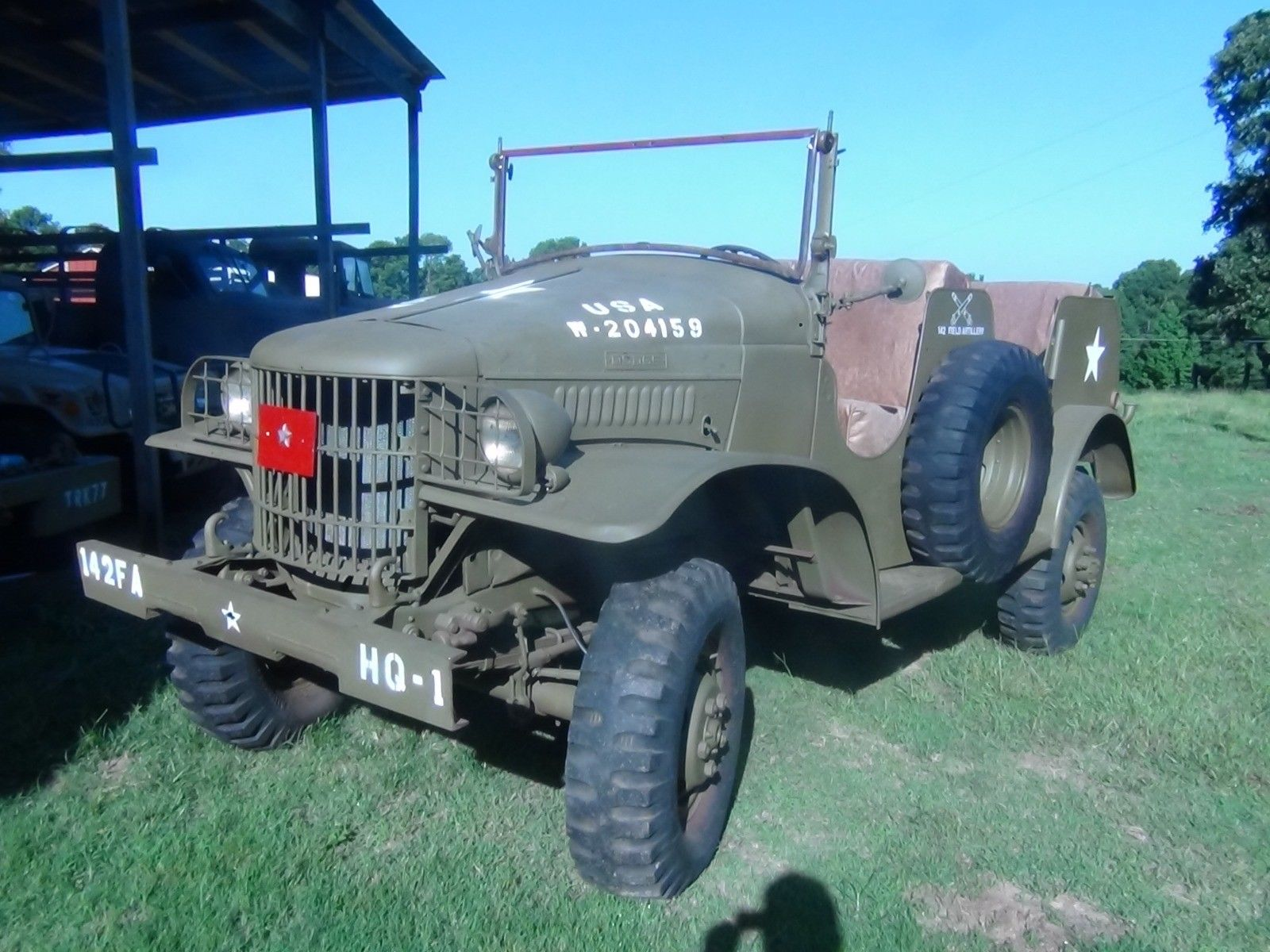 legendary 1941 Dodge 1/2ton Command car WC6 military for sale