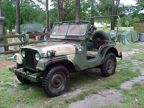 needs body work 1969 Willys M38a1 Jeep Vietnam military for sale