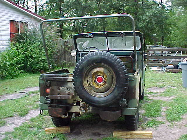 needs body work 1969 Willys M38a1 Jeep Vietnam military