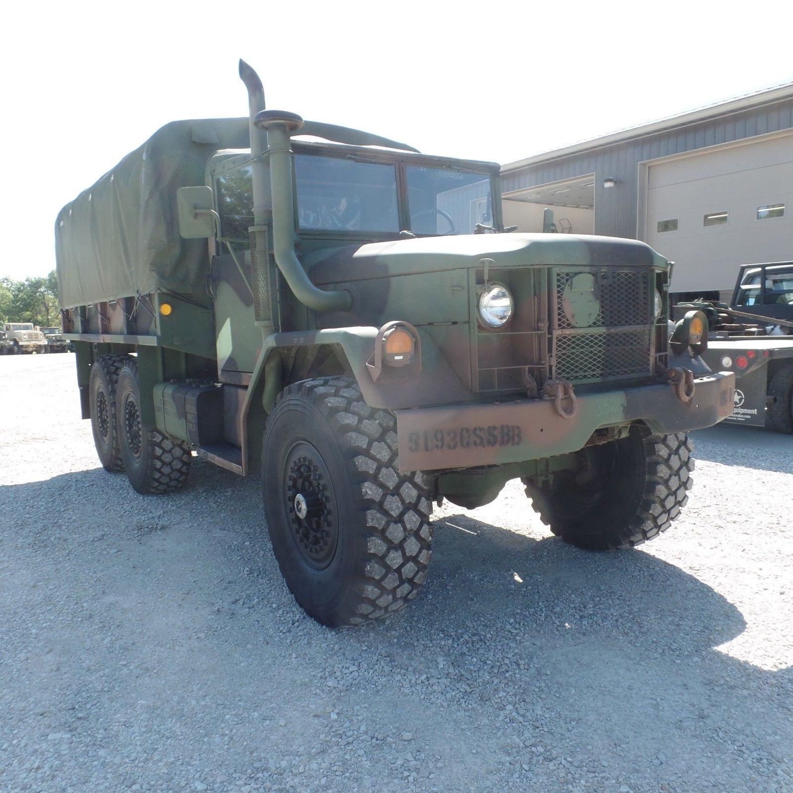 original 1970 Kaiser M35a2 Military Cargo Truck for sale