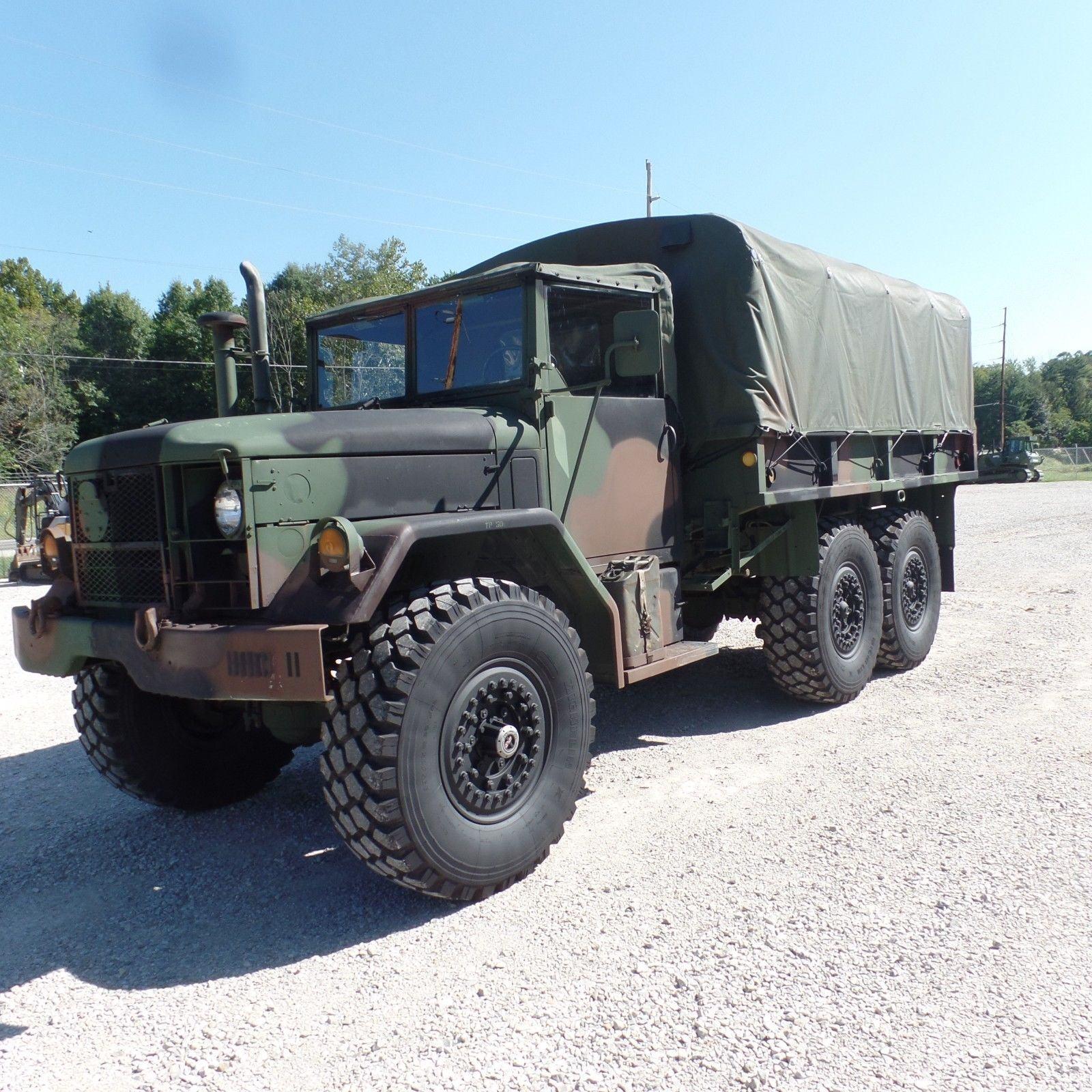 original 1970 Kaiser M35a2 Military Cargo Truck
