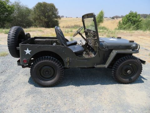 rust free 1952 Willys M38 Military for sale